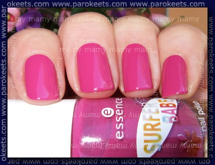 Essence - Surfer Babe - Surferama swatch