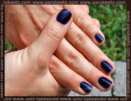 Swatch: Barry M - Navy