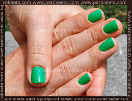 Swatch: Barry M - Spring Green
