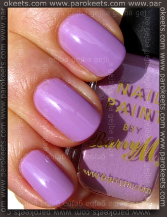 Barry M - Pale Purple swarch