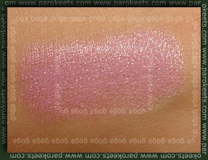 Barry  129 Palest Lavender hand swatch