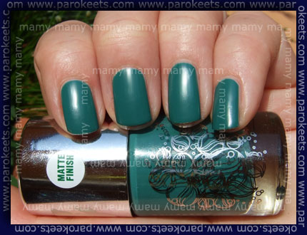 Catrice - LE Oceana, Sea Of Green, swatch