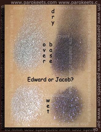 Swatch: Essence - Eclipse TE - Duo Eyeshadows - Edward Or Jacob?