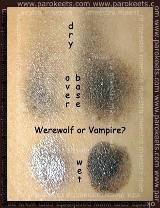 Swatch: Essence - Eclipse TE - Duo Eyeshadows - Werewolf Or Vampire?