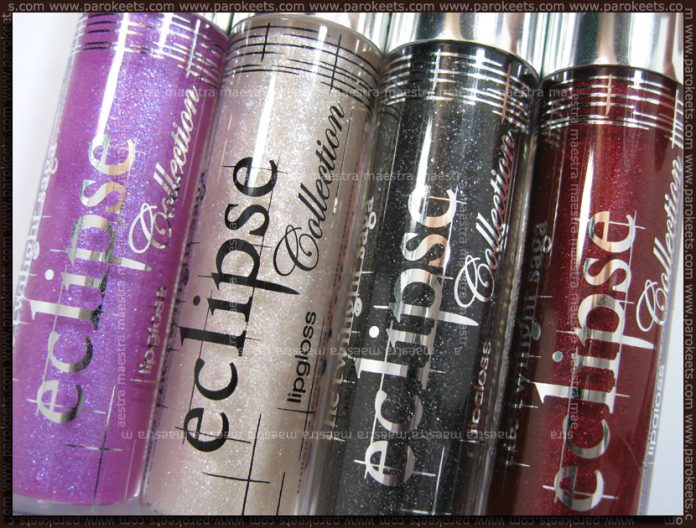 Swatch: Essence - Eclipse TE - Lipglosses