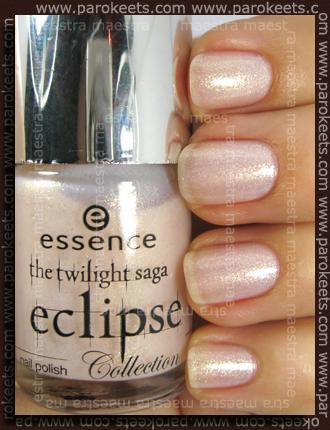 Swatch: Essence - Eclipse TE - Ready To Be Bitten (3 coat)