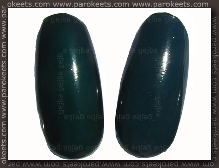Essence Back To Paradise vs. p2 Dangerous comparison nail wheel