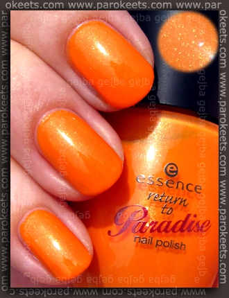 Essence Return To Paradise: Fruit Punch swatch