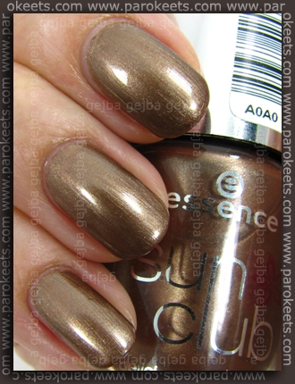 Essence Sun Delicious - On Holiday swatch