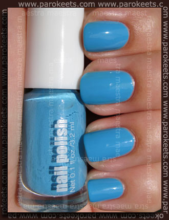 Swatch: H&M Summer Nails - Blue