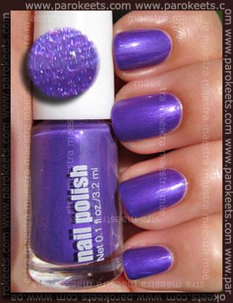 Swatch: H&M Summer Nails - Purple