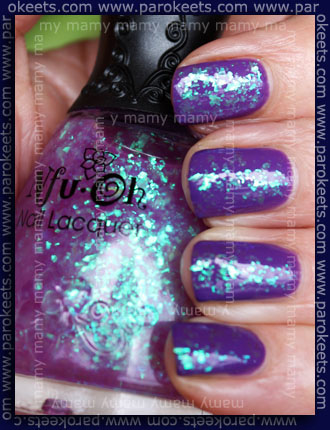 Nfu-Oh: #282 and #50, swatch