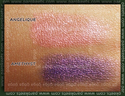 Angelique, Amethyst swatch
