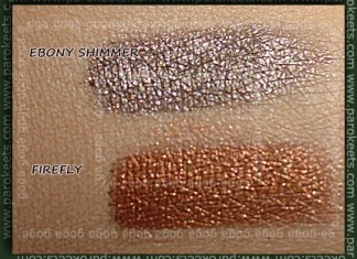 Sweetscents Ebony Shimmer Firefly swatch