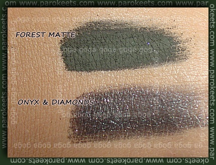 Sweetscents  Forest Matte Onyx & Diamonds swatch