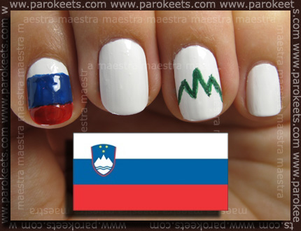 Manicure: 2010 FIFA World Cup - Slovenia