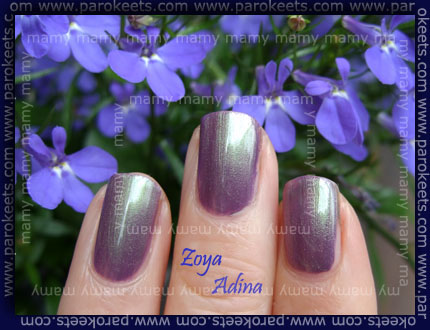 Zoya - Adina, swatch