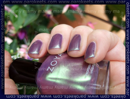 Zoya: Adina, swatch