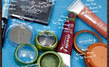 Alverde Feel The Summer TE and Baked Eyeshadows and Essence - Haul