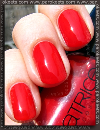 Catrice - Bloody Mary To Go swatch