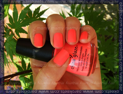 China Glaze: Flip Flop Fantasy, shadow