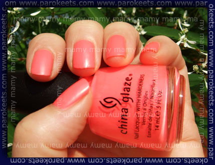 China Glaze: Flip Flop Fantasy, sun