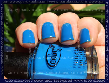Color Club: Chelsea Girl swatch
