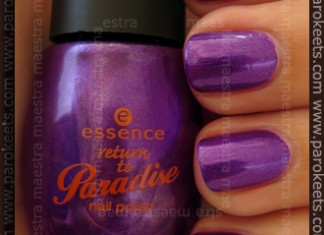 Essence: Return To Paradise - My Little Orchid swatch