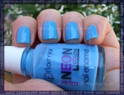 Flormar: Neon N002, swatch
