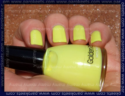 Golden Rose: 323, swatch