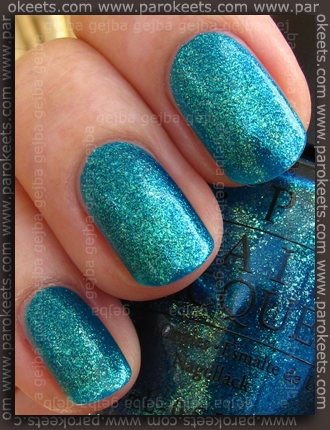OPI - Catch Me In Your Net swatch by Parokeets