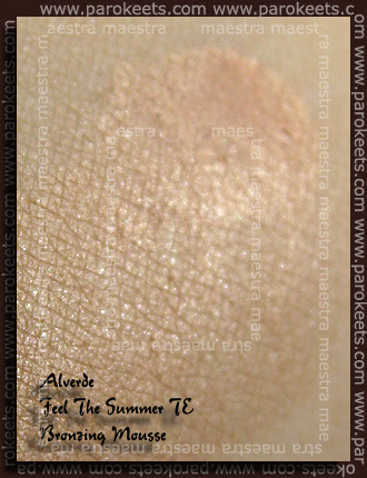 Swatch: Alverde - Feel The Summer TE - Bronzing Mousse