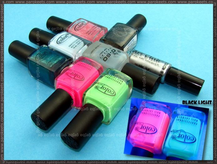 Color Club polishes