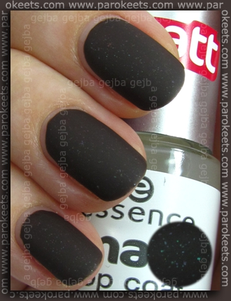 Essence (We Saw It First): Absolutely Stylish with Essence Matte Top Coat swatch