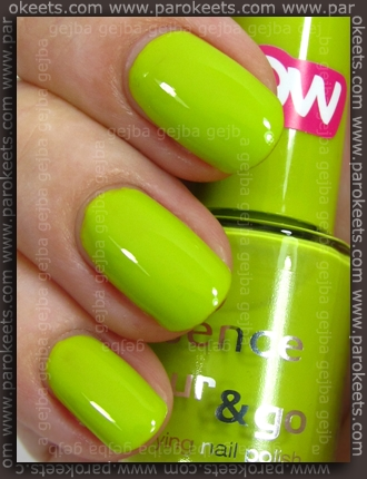 Essence (We Saw It First): Lime Up! swatch