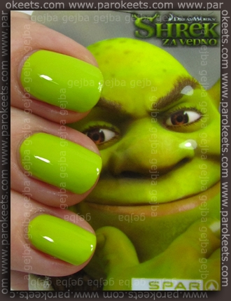Essence (We Saw It First): Lime Up! with Shrek