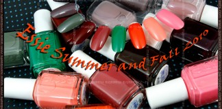 Swatch: Essie Summer and Fall 2010