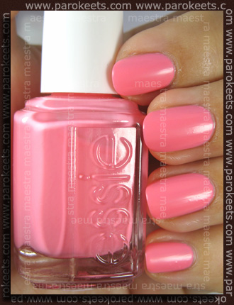 Swatch: Essie - Summer 2010: Knockout Pout