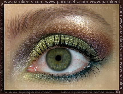 Make up: Green and Purple EOTD: Would U Dare to Wear? by Maestra