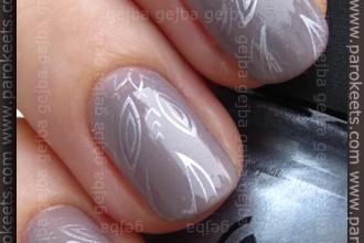 H&M - Grey Sky + China Glaze Sci-Fi + Fauxnad A05 konadicure