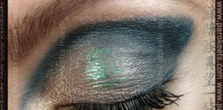 Make up: Hybrid Cut Crease look