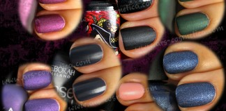 Swatches: Matte polishes - article on ARS Cosmetica by Maestra