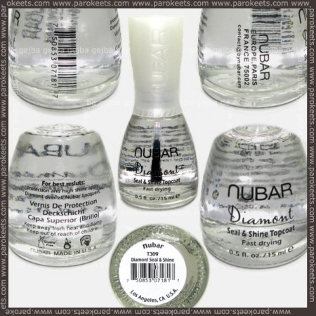 Nubar Diamont top coat bottle
