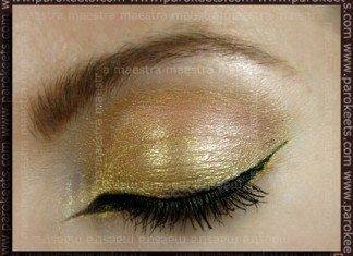 Make up: Rockin' Egyptian look by Maestra