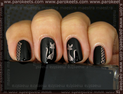 Manicure: Rockin' Egyptian look by Maestra