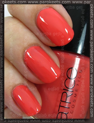 Catrice I Scream Peach by Parokeets