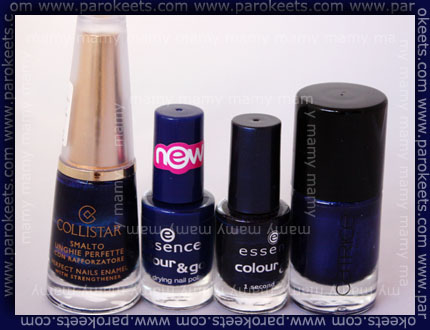 Collistar: Blu, Essence: Just Rock It!, Essence: Rock Rebell, Catrice: It Blue My Mind
