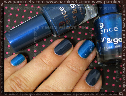 Swatch: Essence - Colour & Go: Underwater - new vs. old