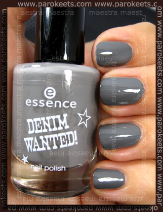 Swatch: Essence - Denim Wanted Trend Edition - Fivepocket Grey