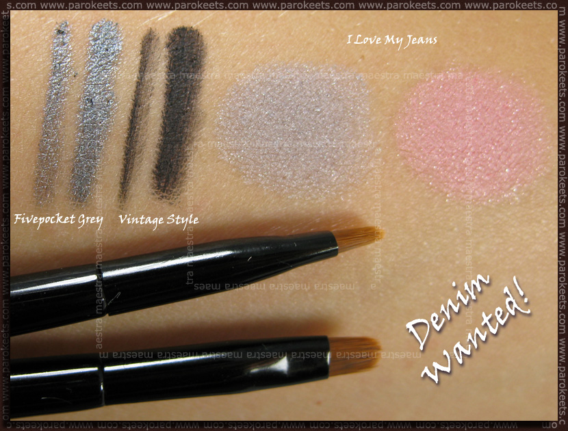 Essence - Denim Wanted Trend Edition swatches